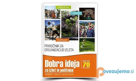 Turistični priročnik Dobra ideja: Slovenski trg - Za zaključene skupine