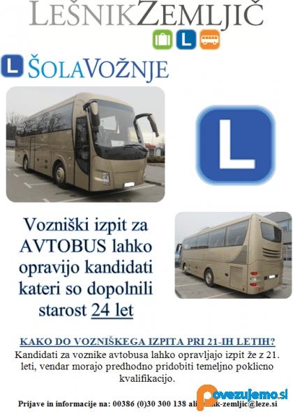 Avtošola, avtobusni prevozi in turistična agencija Lešnik & Zemljič