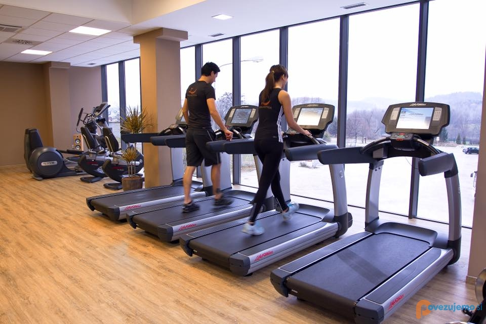 Wellness in športni center Galactica