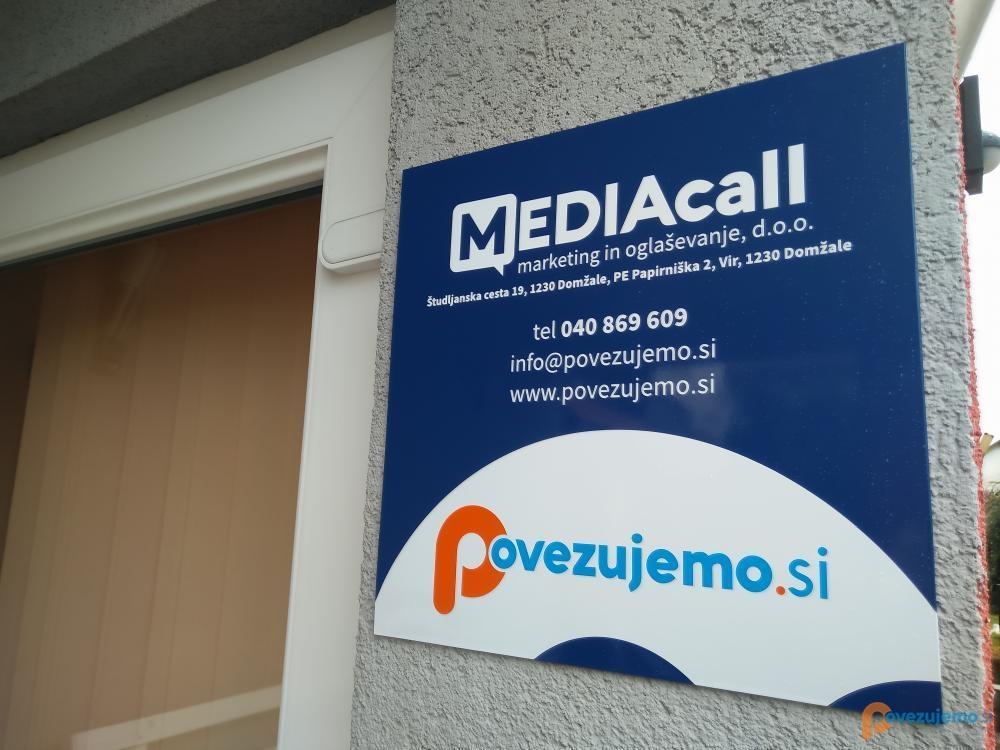 Mediacall d.o.o. - Vhod v podjetje.