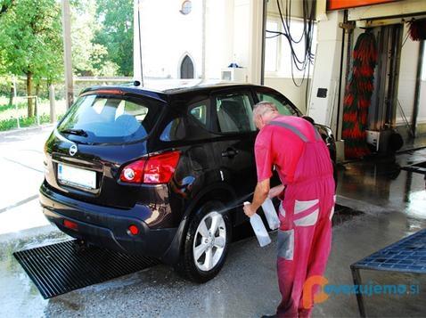 Avtopralnica Pičman, pranje in nega vozil