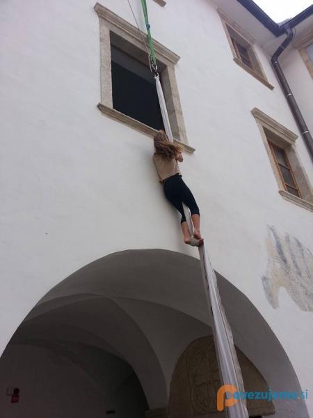 Plezanje po vrvi