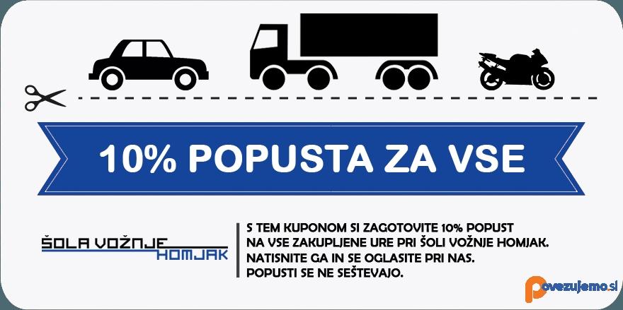 Šola vožnje Homjak, Antun Homjak s.p.