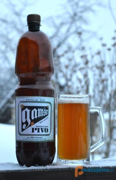 Gamsar, pivovarna in destilarna