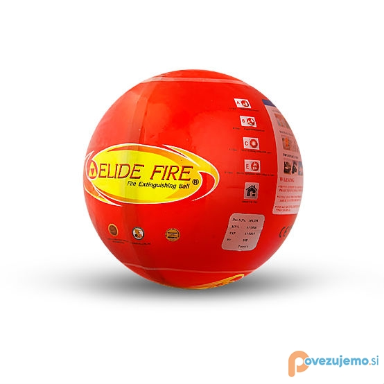 Veni 1 d.o.o., prodaja gasilnih žog Elide Fire Ball