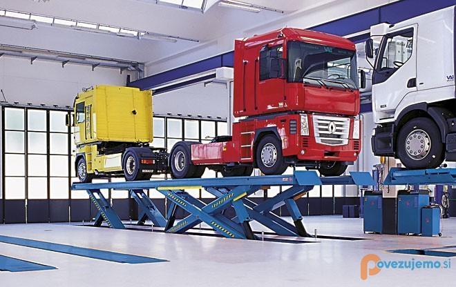 Kamjon Servis d.o.o., popravilo strojev in naprav