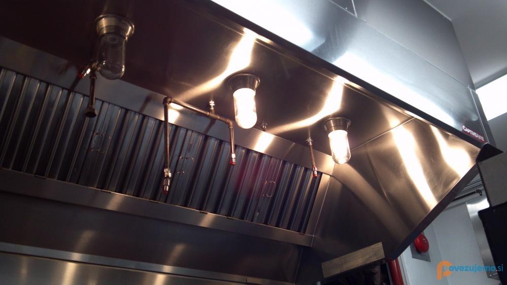 Zratech d.o.o., čiščenje kuhinjske ventilacije