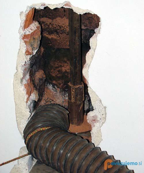 Trgoinox sanacija dimnikov, klasični, keramični, inox dimniki