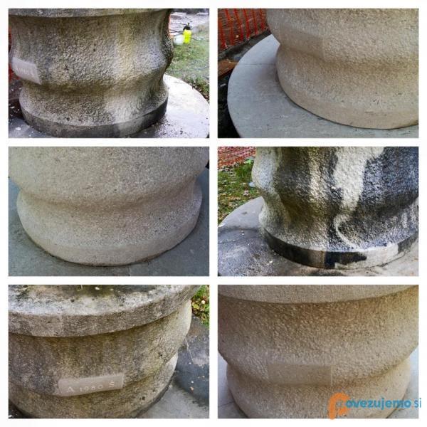Kamenplus, nega kamnitih površin, čiščenje kamna - slika 2