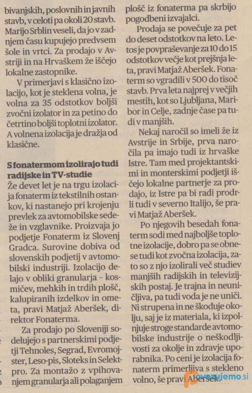 AMAO, strokovno in tehnično svetovanje, Matjaž Aberšek s.p.
