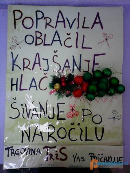 Trgovina TriS, Suzana Romih, s.p.