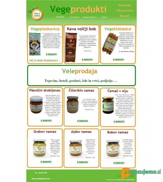 Živi zdravo, veganska in vegetarjanska hrana - Vegi dobro