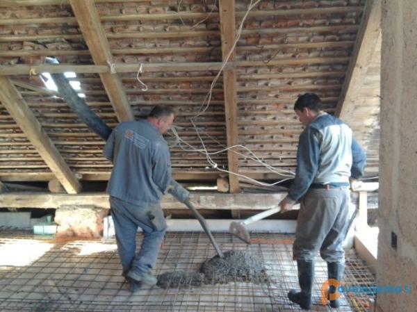 Gordeja, splošna gradbena dela