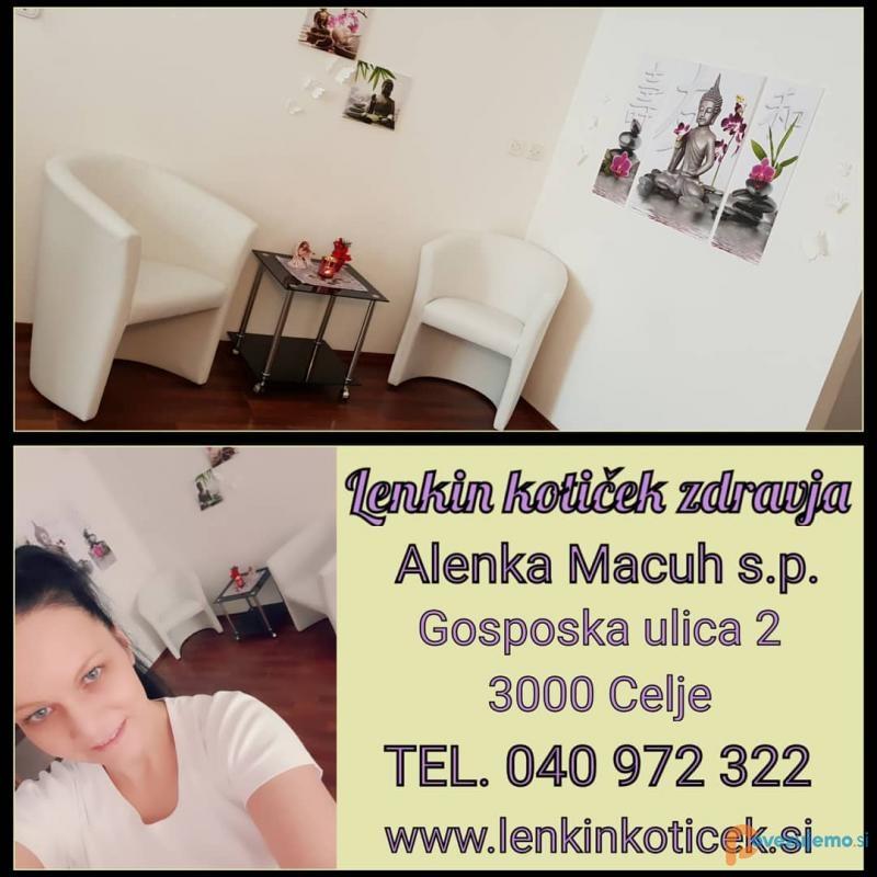 Lenkin kotiček zdravja, masažni in energijski center, Alenka Macuh s.p.