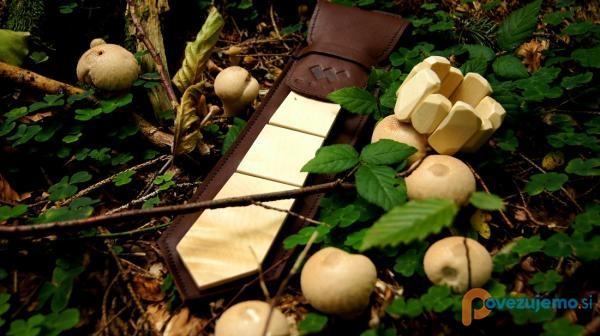 WU-LE - ''TIED WITH NATURE'', modni dodatki iz lesa