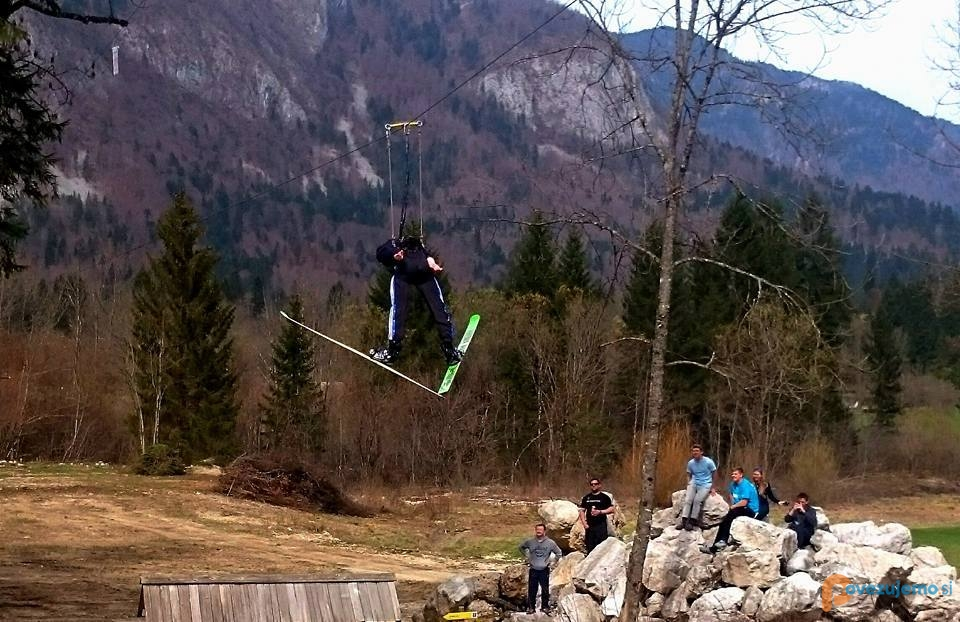 BohinjSKI FLYer - Zip line, Branko Iskra s.p.