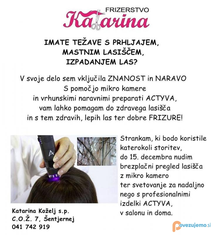 Frizerstvo Katarina, Katarina Koželj s.p.