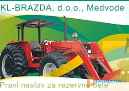 KL-brazda, prodaja rezervnih delov za kmetijske stroje
