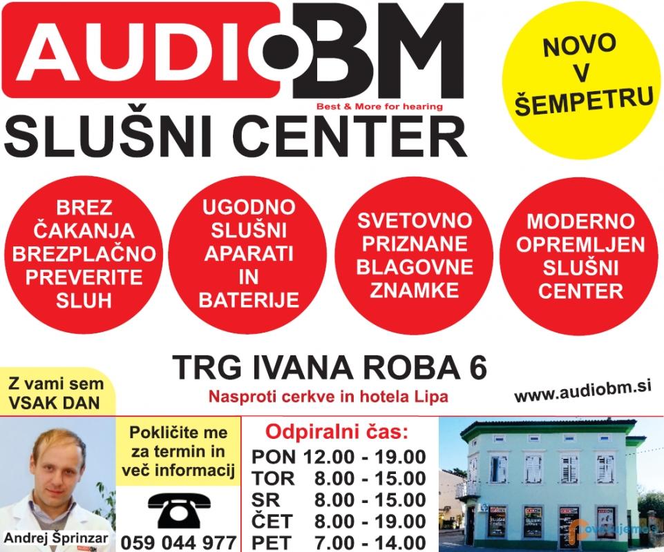 Slušni aparati AUDIO BM