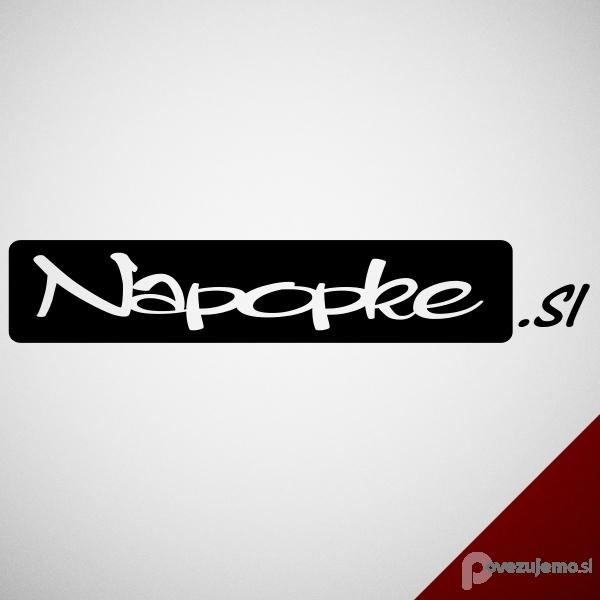Napopke, izdelava reklamnih napisov, Simon Novak s.p.