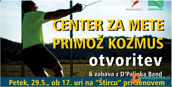 Center za mete Primož Kozmus