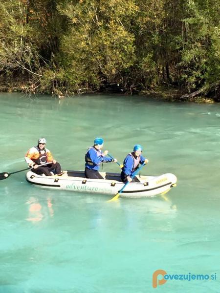 Adventure rafting Bled
