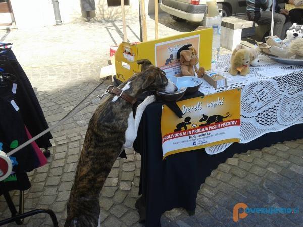 Veseli repki, proizvodnja pasjih piškotov