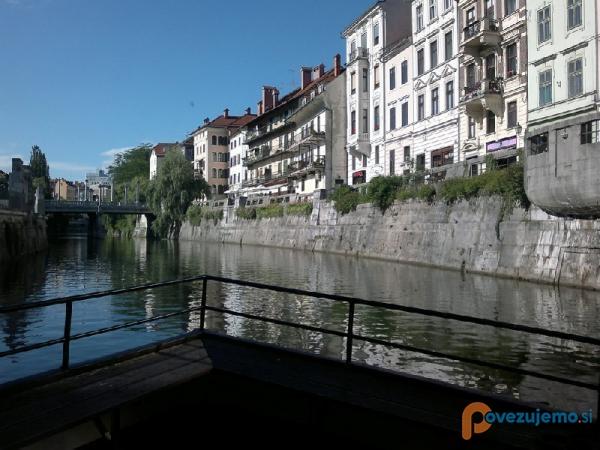 Bober Marine, plovba po Ljubljanici