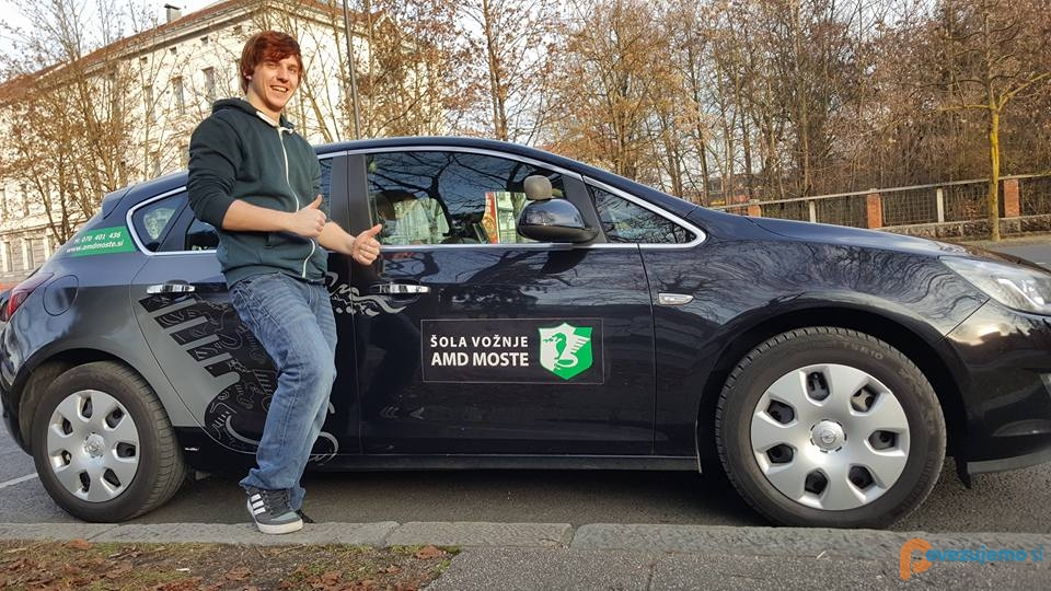 Šola vožnje AMD Moste