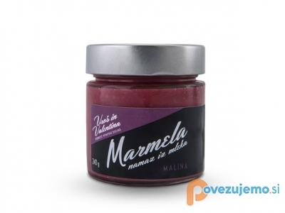 Kmetija Uroš in Valentina, pridelava in prodaja marmelad, sirupov in svežega sadja.