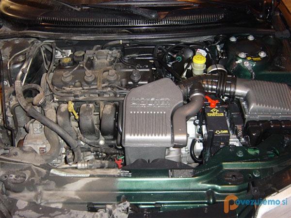 Čistilni servis PriTi - Čiščenje motorja