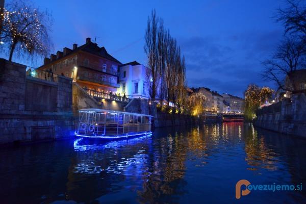 Prevozi z ladjico po Ljubljanici, slika 2