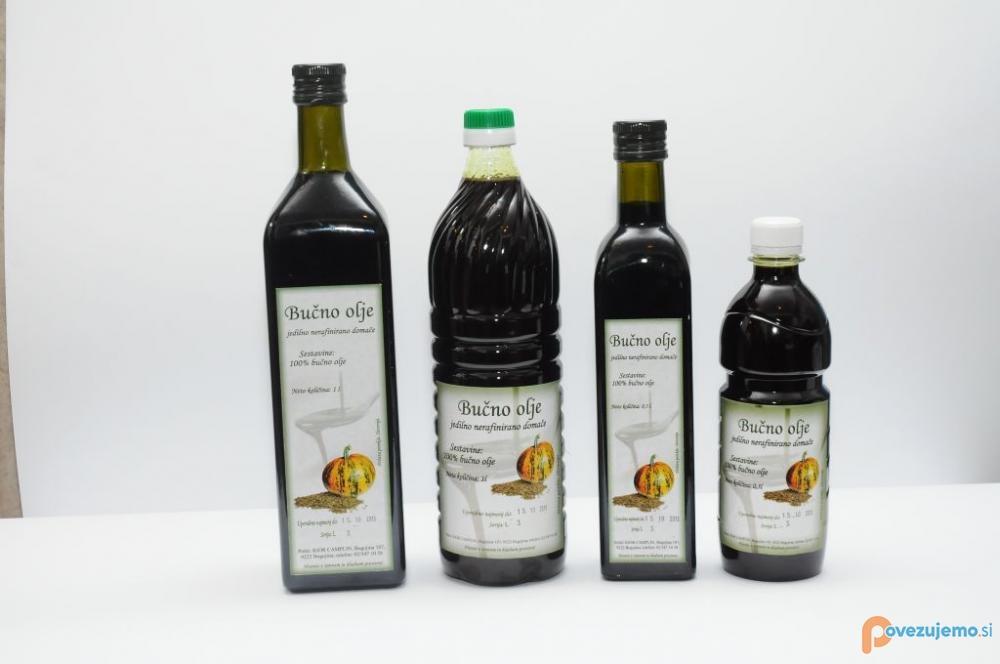 Kmetija Camplin - Bučno olje