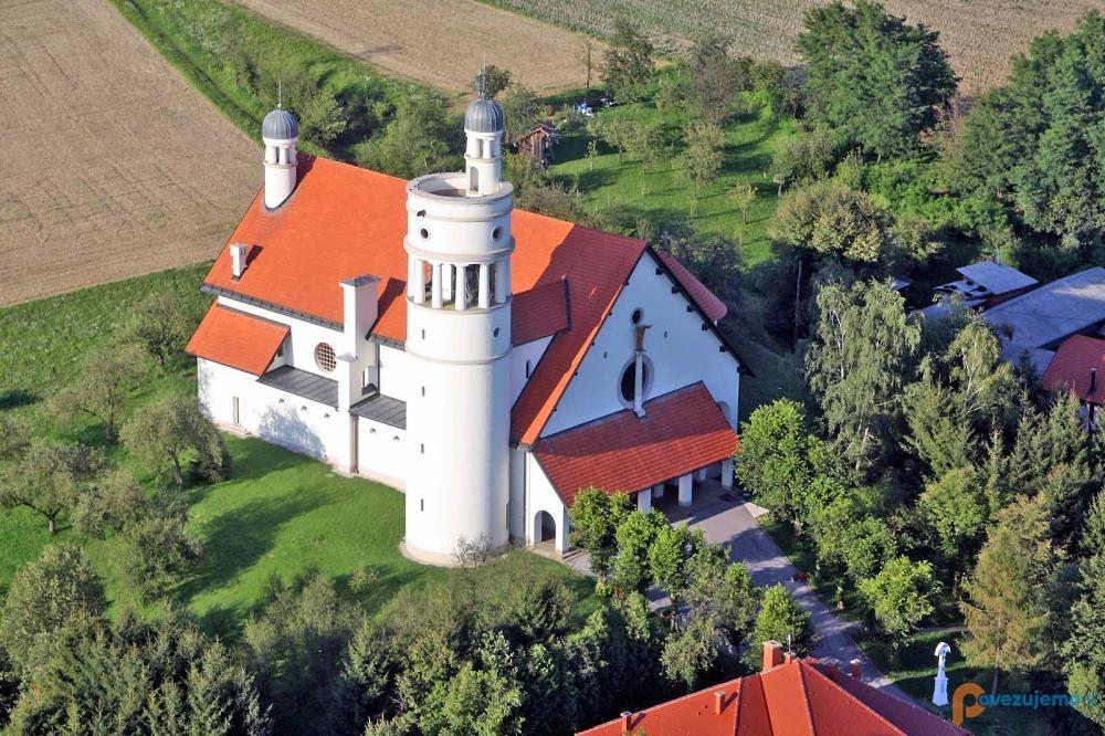 Kmetija Camplin - Plečnikova cerkev, Bogojina