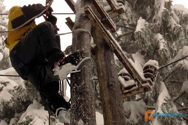 Ple-mont, pole-climbing plezalke